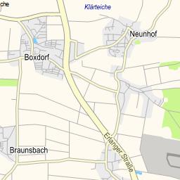 Landkreise Mittelfranken Karte.Radtouren Vgn